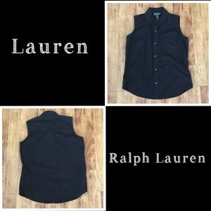 Lauren Ralph Lauren Women's Button Down - Small